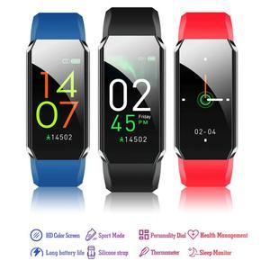 Fitness Bracelet Body Thermometer IP67 Waterproof Smart Bracelet Fitness Tracker Heart Rate Monitor Smart Band Watch Unisex