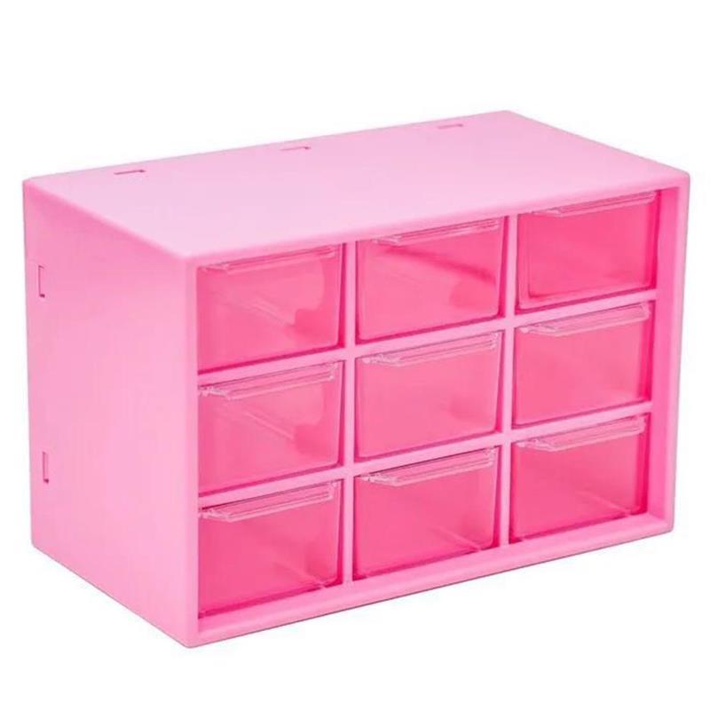 aliexpress.com - Dustproof Storage Box 9 Grids Desktop Transparent Household Drawer Storage Box Stationery Jewelry Cosmetics Storage Box