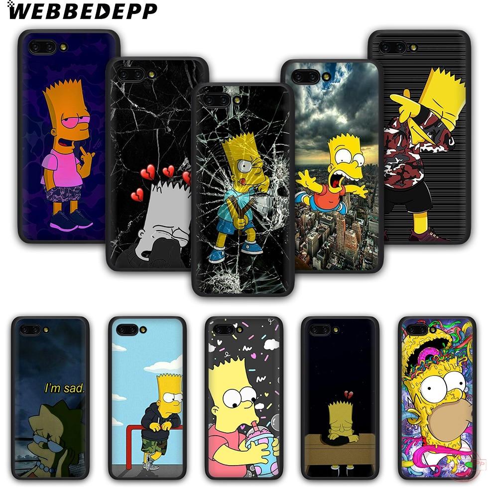WEBBEDEPP Симпсон ТПУ чехол для телефона для Honor 6A 7A 2 ГБ/3 ГБ Pro 7C 5.99in 7X 8X 8C 9 10 Note10 для детей 8, 9, 10 Lite