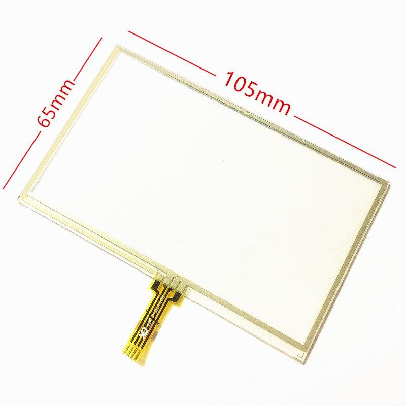 Nueva pantalla táctil de 4,3 pulgadas para GARMIN Zumo 390 LM 390LM GPS panel de pantalla táctil reemplazo de vidrio 105mm x 65mm envío gratis