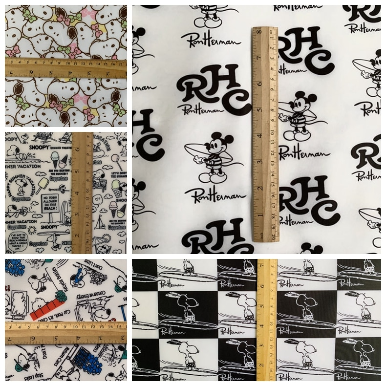 ZENGIA 91x145cm tela impermeable 210D Oxford Perro Japonés PVC tela para bolsa hecha a mano/mantel de mesa de té a prueba de aceite paño de mesa limpio