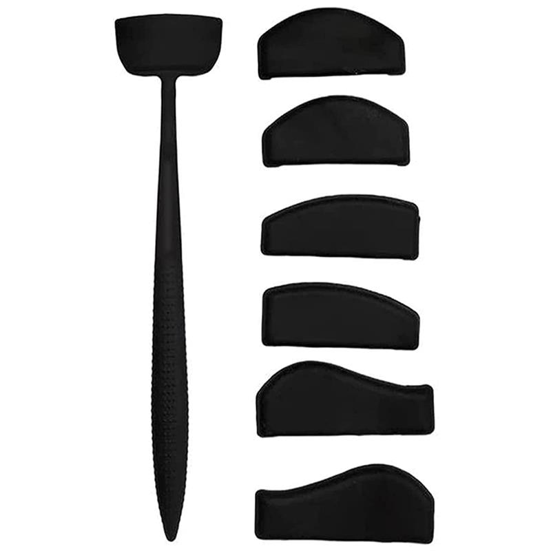 Eyeshadow Stencil Crease Line Kit Lazy Eyeshadows Fixer Portable Stamp Seal Crease Cut Eyeshadow Mol