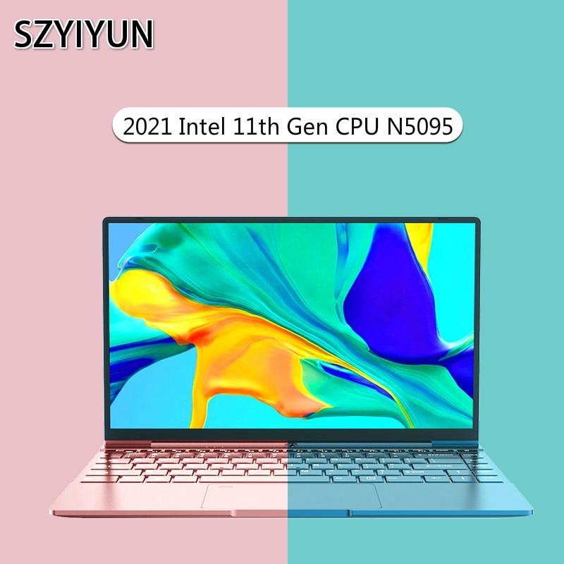 Ordenador portátil Intel Celeron N5095 DDR4, 14 pulgadas, 12GB de RAM, Windows...