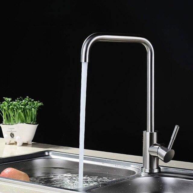 المطبخ صنبور الماء الساخن والبارد يمكن استدارة بالوعة صنبور النحاس حوض غسيل صنبور