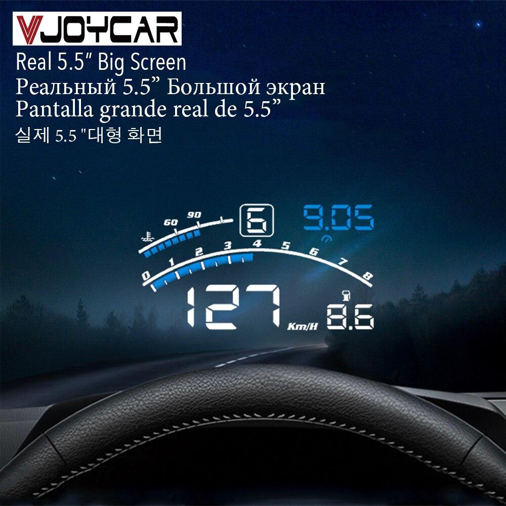 Vjoycar V41 Newest Head Up Display Car OBDII EUOBD 5.5
