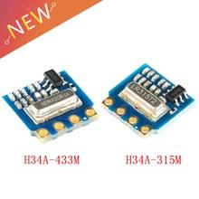10 piezas H34A transmisor inalámbrico módulo 315m 433m de baja tensión de casa inteligente control remoto módulo IOT H34A-315M H34A-433M