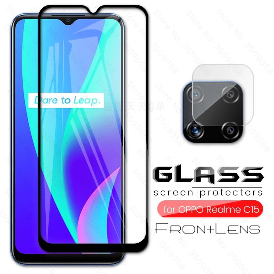for realme c15 glass camera protectors for oppo realme c 15 realmi c15 protective glass for realmy r