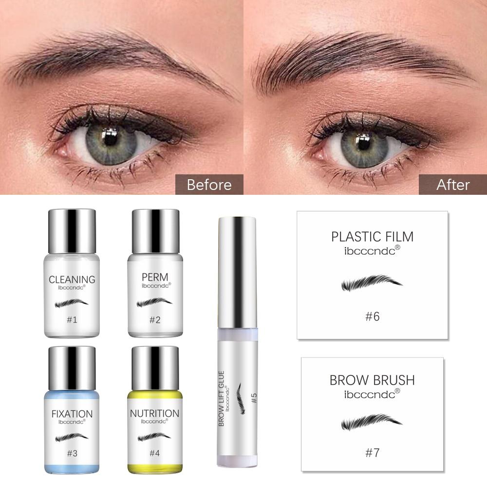Ibcccndc lash olho & sobrancelha elevador makeupbemine perming cílios elevador extensão kit curling olho lash cola onda loção dropshipping