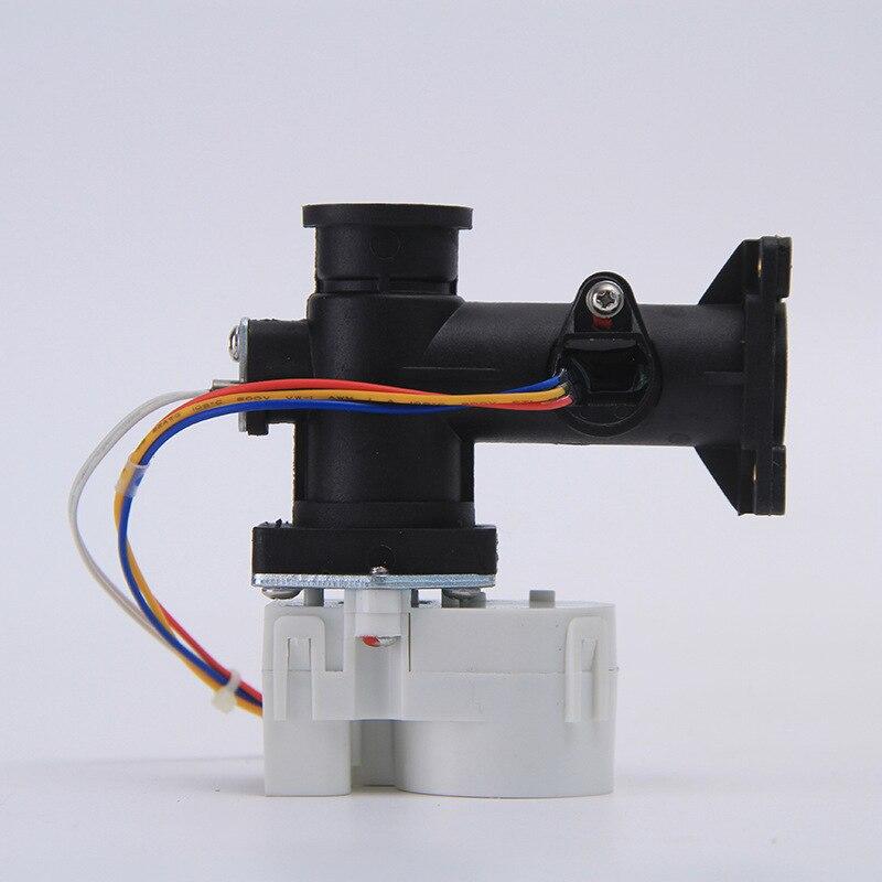 Flange de água válvula reguladora de Água Elétrico Proporcional válvula proporcional válvula motorizada para HVAC DC5V 102.4*105.3 milímetros