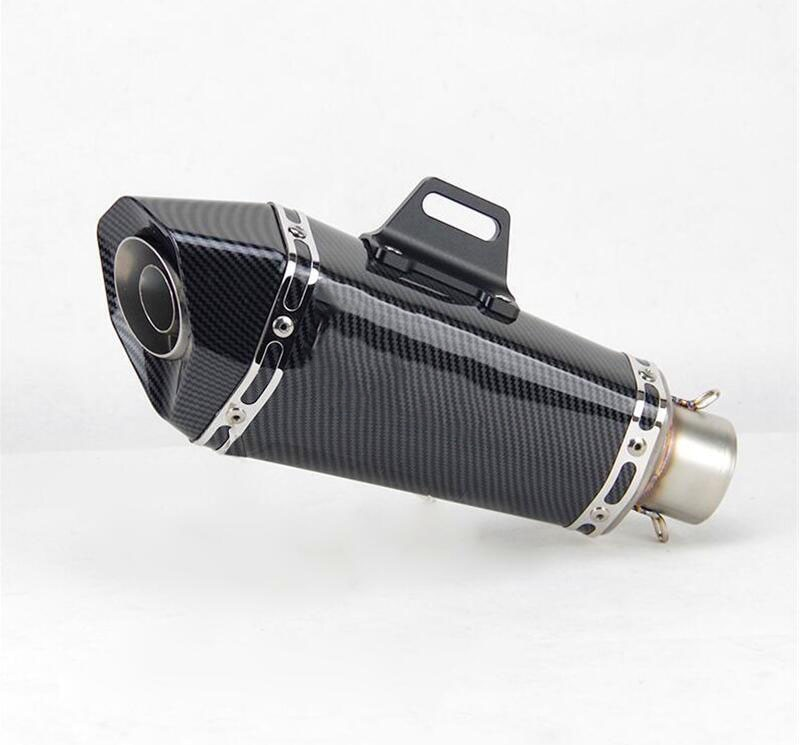51mm Universal motorcycle exhuasr for Fz1 R6 R15 R3 ZX6R ZX10 Z900 CBR1000 GSXR 1000 K8 MT07 with Db killer exhaust pip