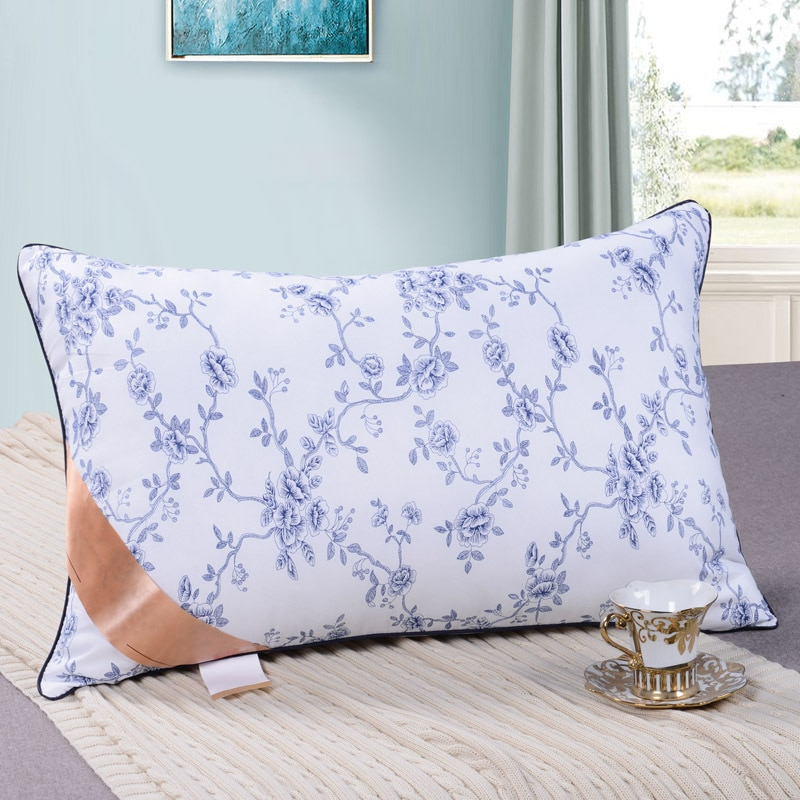 600g/750g/900g Elastic Bedding Pillow Cotton Filling Inner Hotel Pillow Core for Adult Students Bedroom Head Sleepping