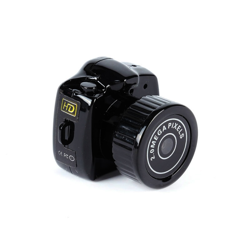Y2000 mini câmera filmadora hd 1080p dvr filmadora portátil webcam gravador de voz vídeo mini câmera