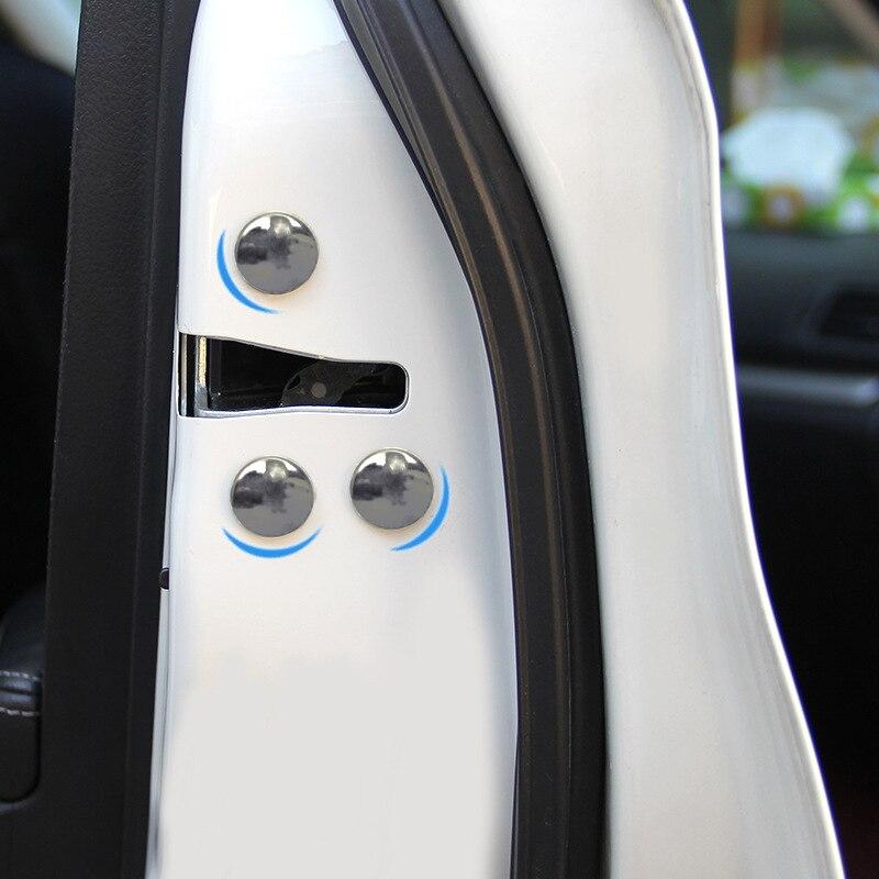 Cubierta protectora decorativa de tornillo de acero inoxidable universal para coche de 12 Uds para Volvo V40 V60 S60L S80 XC80 XC90