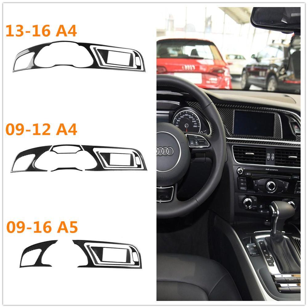 Für audi A4 B8 S4 RS4 A5 S5 RS5 Coupe BSport zurück Cabriolet Carbon Faser Instrument Panel Cluster Meter Dashboard trim Geändert