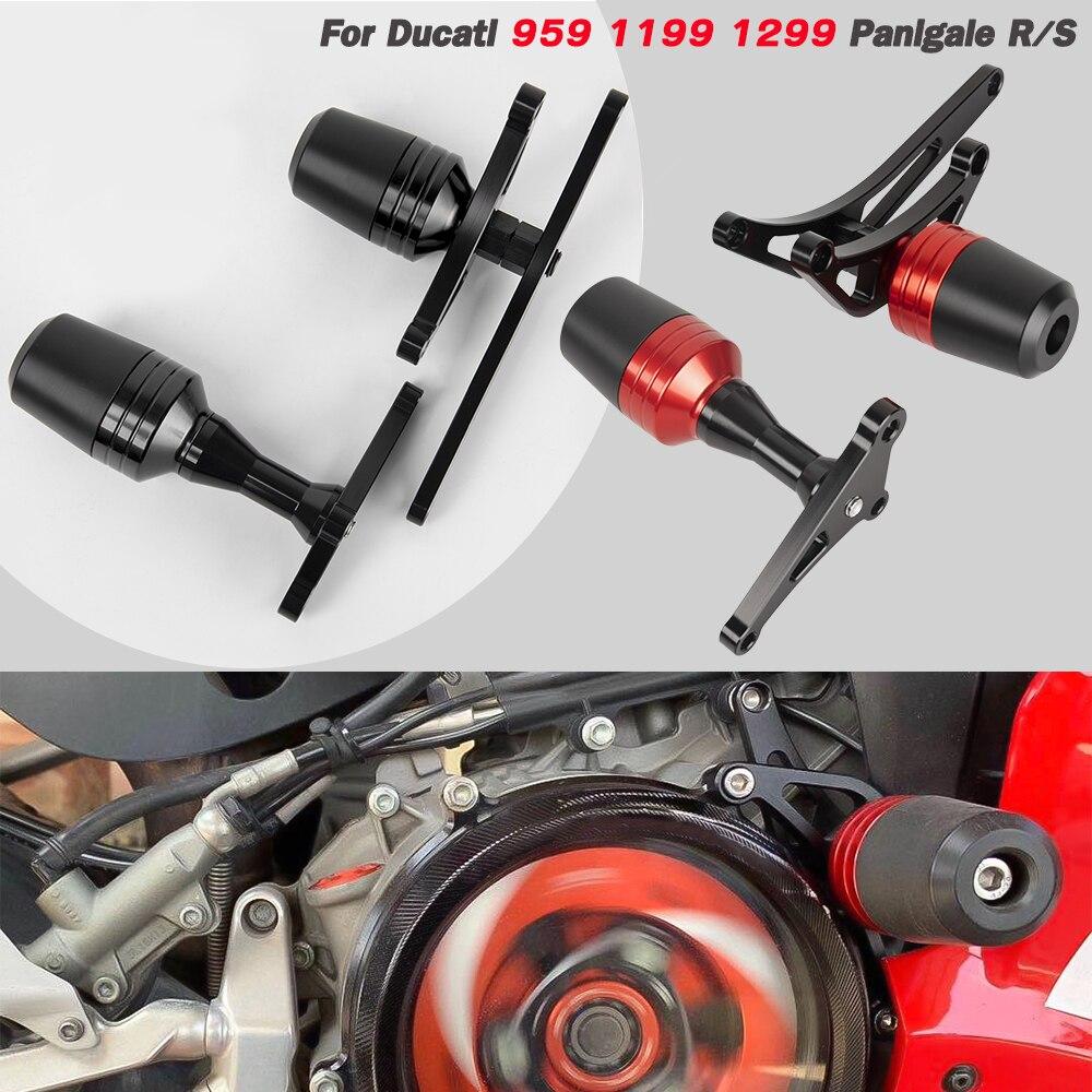 إطار منزلق لـ Ducati 959 1199 1299 Panigale R S Superleggera لوحة تحطم هدية الحرس السقوط حامي دراجة نارية الملحقات