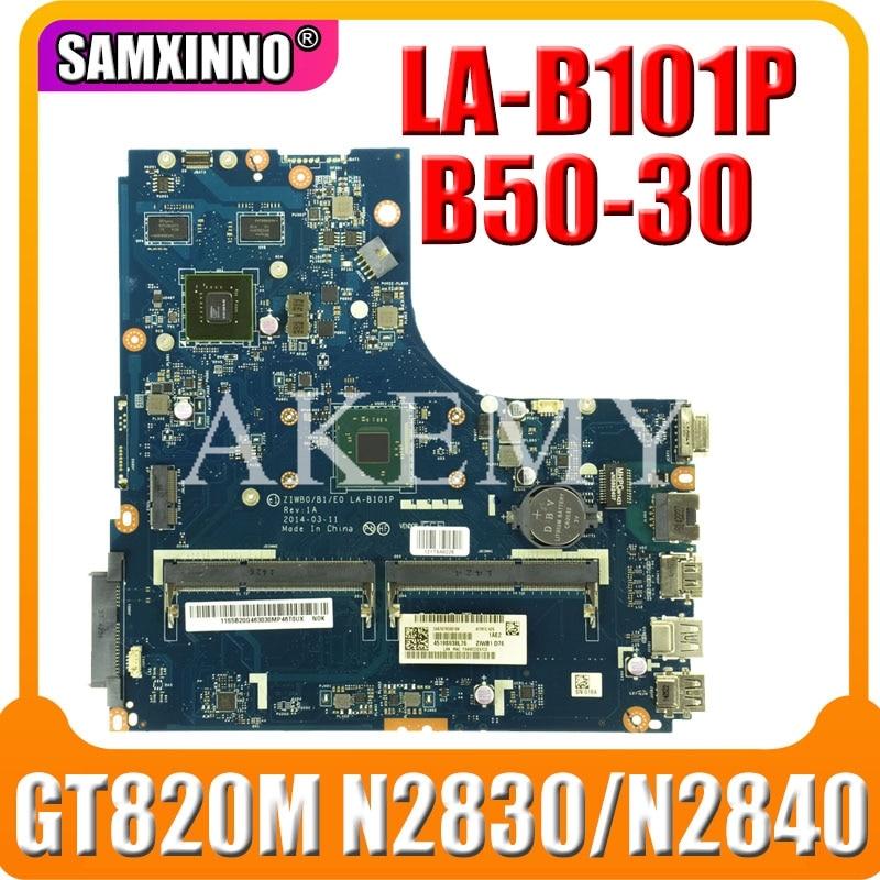 SAMXINNO لينوفو B50-30 N50-30 LA-B101P Laotop اللوحة LA-B101P اللوحة مع N2830/N2840U GT820M