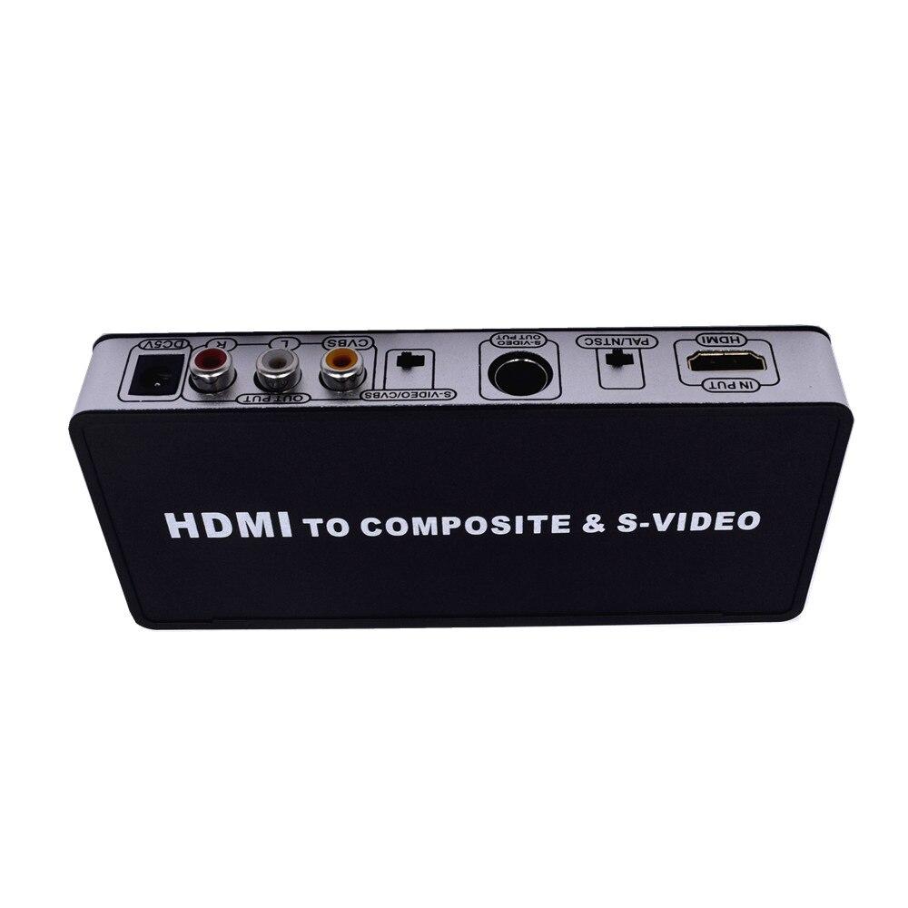 MOOL HDMI PARA AV + S-VIDEO, HDMI para AV + VÍDEO HD Converter Plug UE