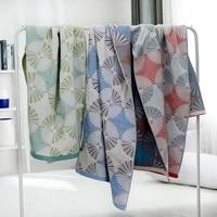 cotton plain summer bath towel gauze blanket for sofa bed towel quilt women wrap blanket nap blankets throw blanket