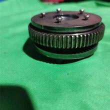 Поворотная зубчатая пластина Опора поворотного механизма для 1/18 HUINA 580 RC экскаватор модификация Запчасти Аксессуары