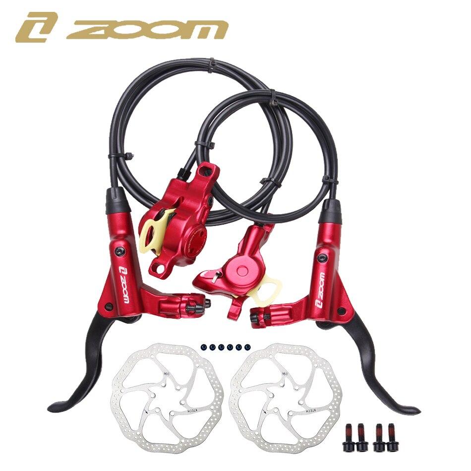 ZOOM HB-875 Fahrrad Bremse mtb Bremse Hydraulische Scheiben Bremse 800/1400/1450/1550mm MT200 Berg Fahrrad bremse Upgrade MT315 MT615