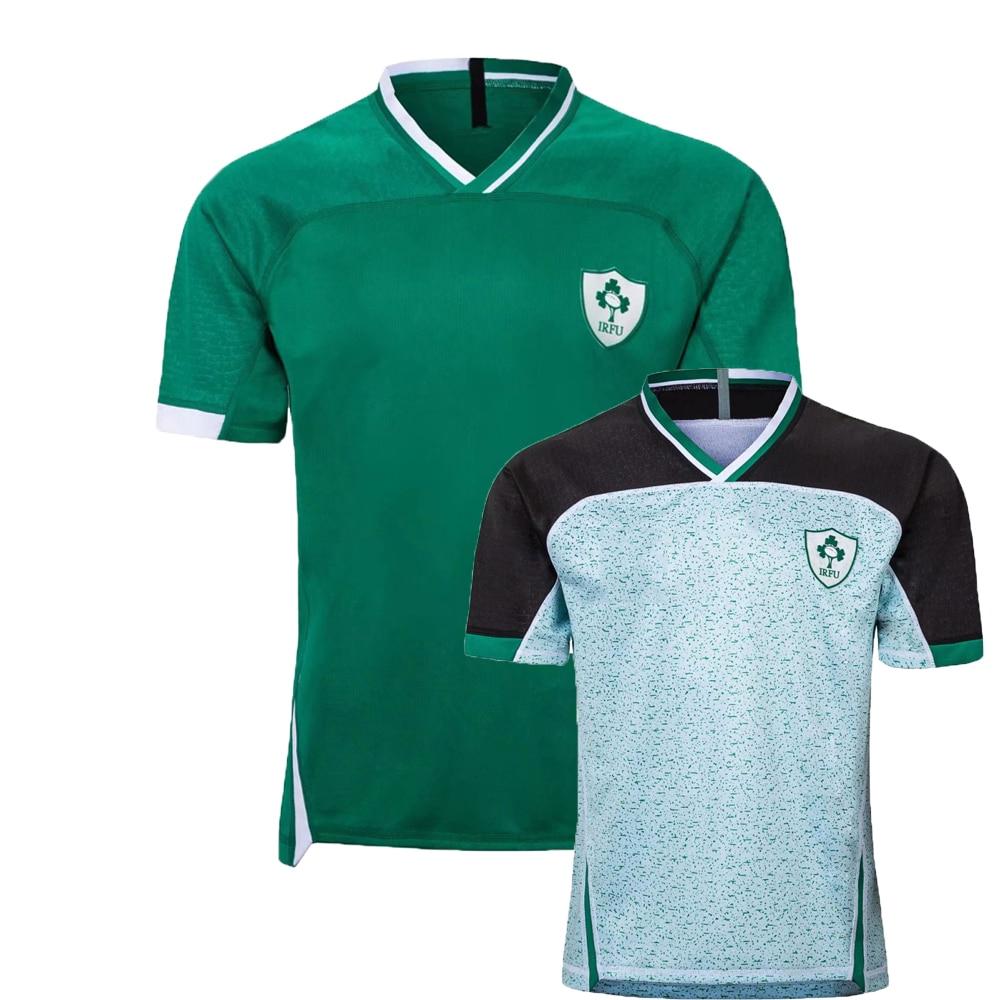 2019 irlanda rwc casa masculina fora rugby camisa esportiva S-5XL