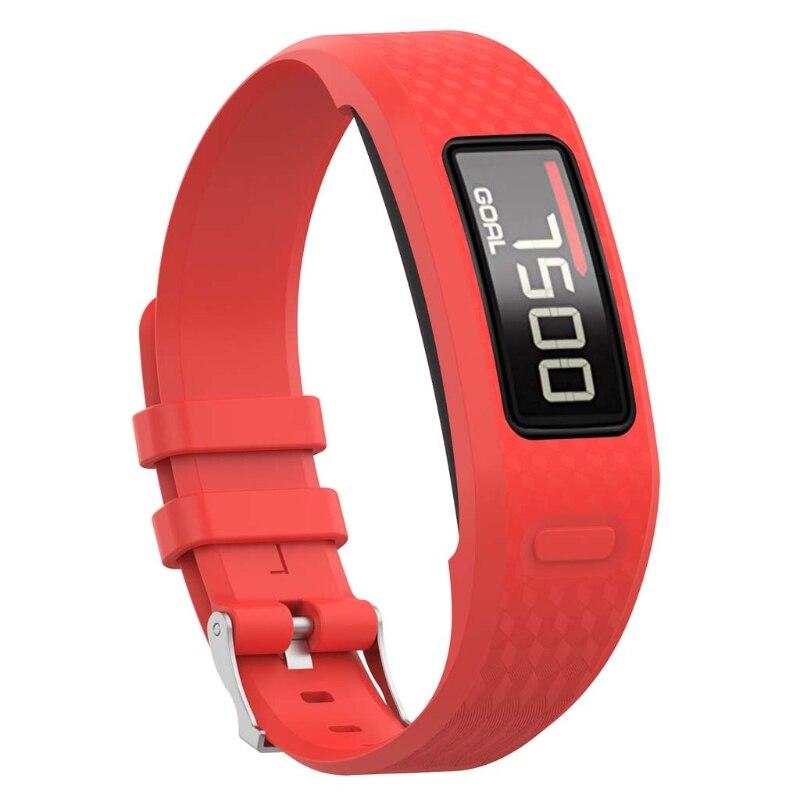 2021 New Replacement Soft Silicone Wrist Watch Band Strap for garmin Vivofit 1/2 Bracelet
