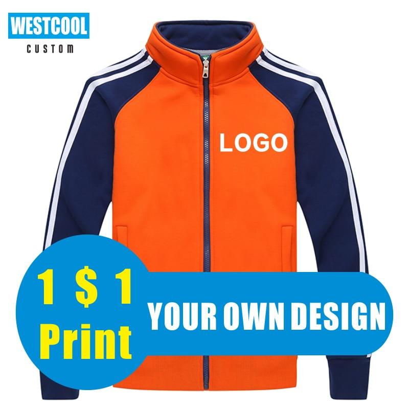 Куртки на молнии с логотипом на заказ, осенне-зимние групповые топы с вышивкой, повседневная мужская одежда на заказ WESTCOOL2020