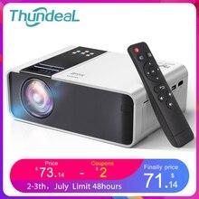 ThundeaL HD Mini Projektor TD90 Native 1280x720P LED Android WiFi Projektor Video Home Cinema 3D HDMI Film spiel Proyector