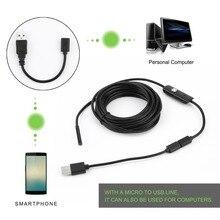Endoscope Mini caméra Otoscopio Usb caméra de sécurité 5.5mm pour téléphone Android Smartphone et PC Otoscope caméra dinspection