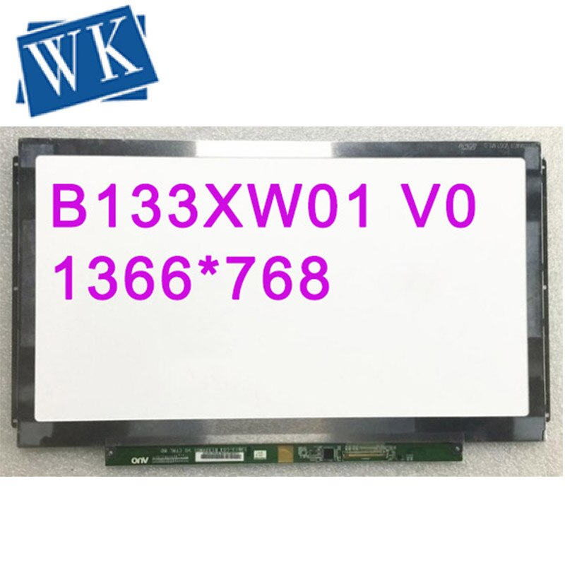 شحن مجاني B133XW01 V.0 V0 B133XW01 V4 V5 CLAA133WA01A LTN133AT28-L01 LP133WH2-TLA2 شاشة لاب توب LCD 1366*768 LVDS 40 دبابيس