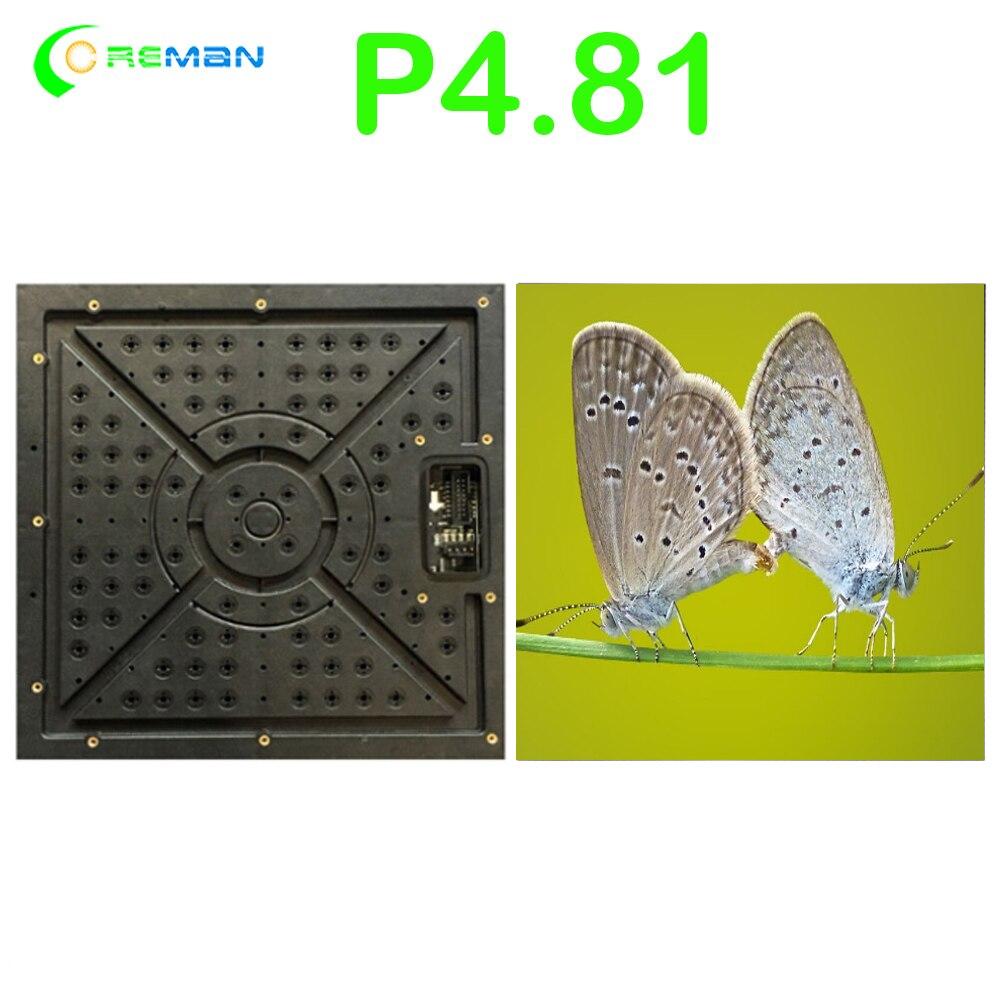 Comprar P4.81 módulo matriz de LED Flexible RGB Digital Pixel Panel de pantalla P3.91 P4.8