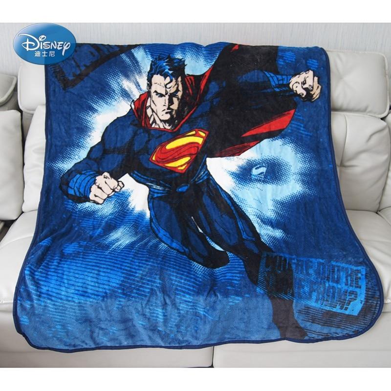 Мягкие фланелевые одеяла для малышей с изображением Супермена, Человека-паука, Диснея, 117x152 см, для маленьких мальчиков и девочек, на кровать...
