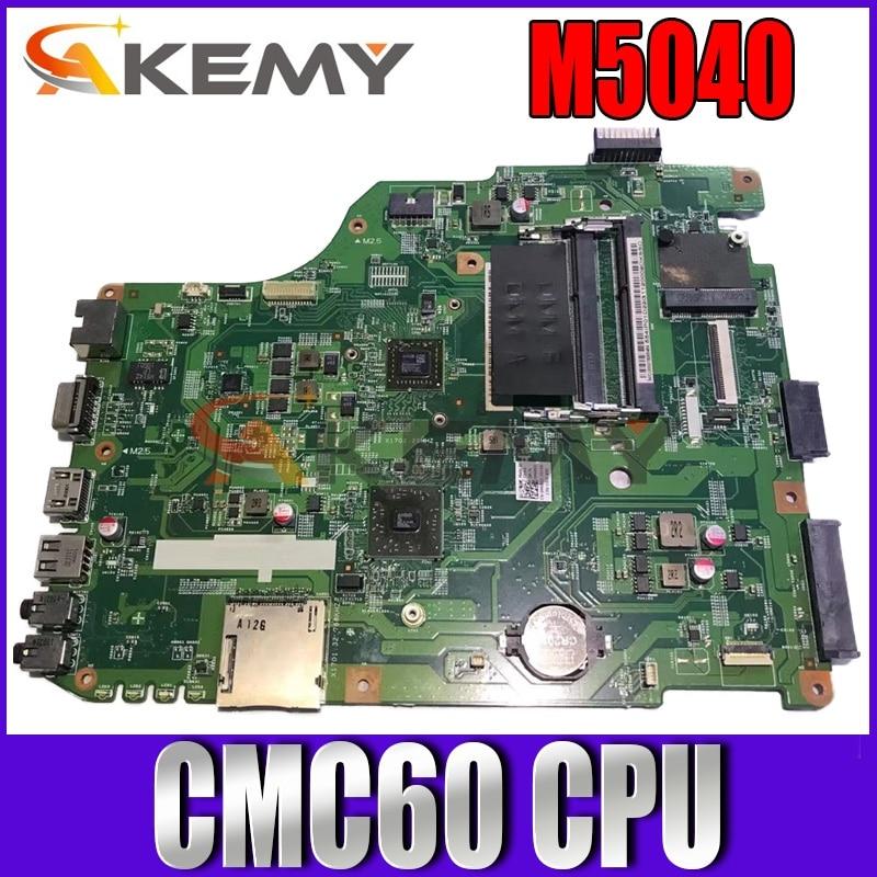 Akemy CN-0H2KGP 0H2KGP 48.4IP11.011 اللوحة الرئيسية لأجهزة الكمبيوتر المحمول ديل انسبايرون M5040 اللوحة CMC60 وحدة المعالجة المركزية DDR3