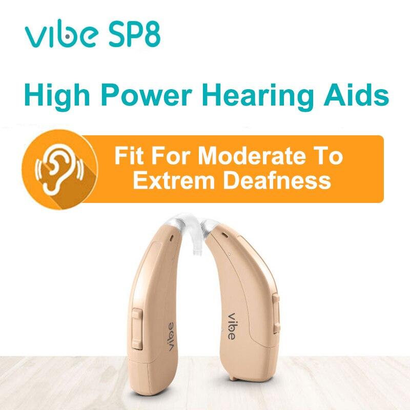 سيمنز فيبي للبرمجة مساعدات للسمع الأصلي شديدة للغاية الصم السمع سوبر عالية الطاقة 8 قنوات التطبيق التكوين