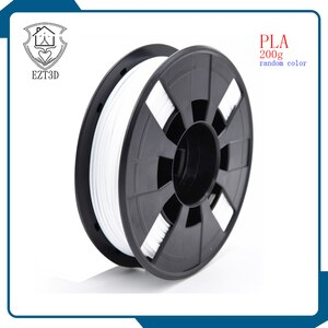 Filament  PLA 1.75mm 0.2KG Printing Materials random  color optional brass stainless steel MK8 nozzle free shipping