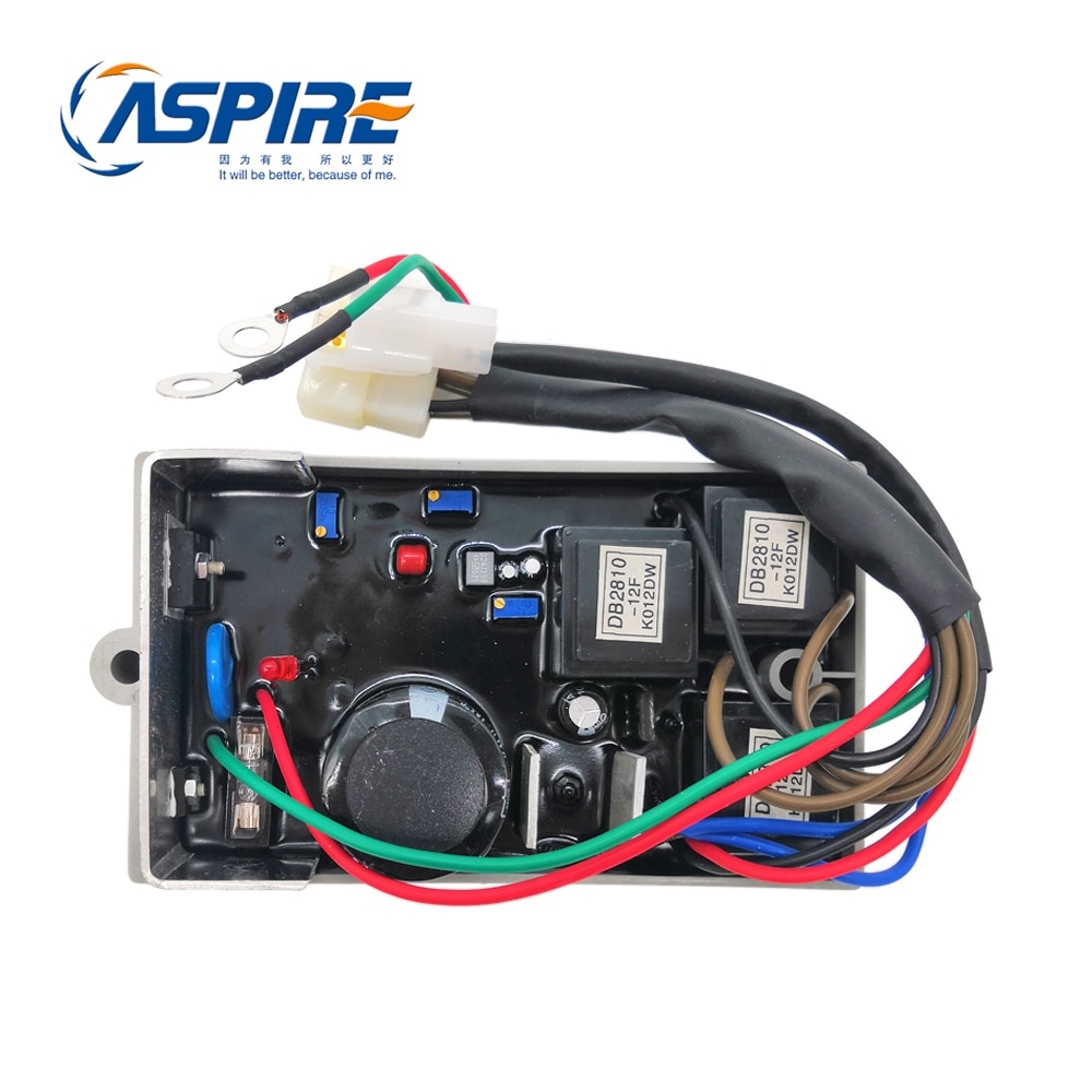 Regulador de voltaje del generador KI-DAVR-150S3 KI DAVR 150S3 generador diésel AVR trifásico envío gratis