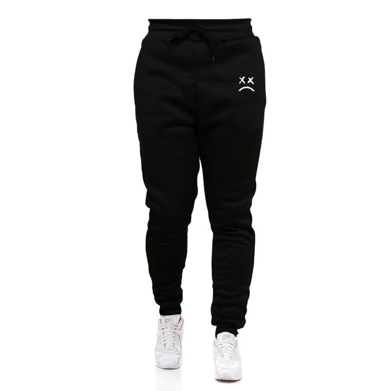 New Running Jogging Pants Men Cotton Soft Bodybuilding Joggers Sweatpants Long Trousers Sport Training Pants