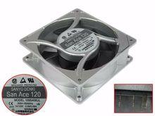 Sanyo Denki 109S408UL AC 200V 12W 120x120x38mm serveur ventilateur de refroidissement
