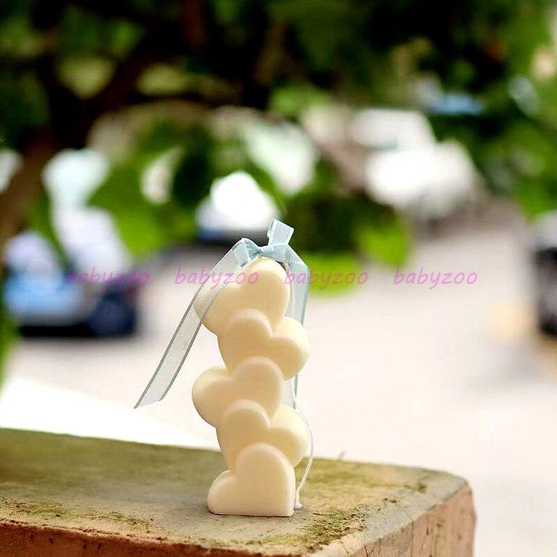 Силиконовая форма для ароматизированных свечей, милый подарок на день Святого Валентина, «сделай сам», материал для ручной работы, форма для мыла
