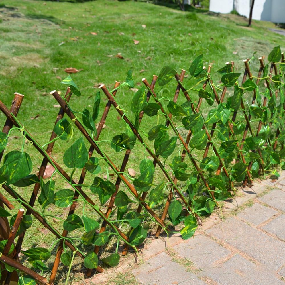 Pagar kebun tiruan yang boleh ditarik balik yang boleh diperluas faux - Peralatan berkebun - Foto 4