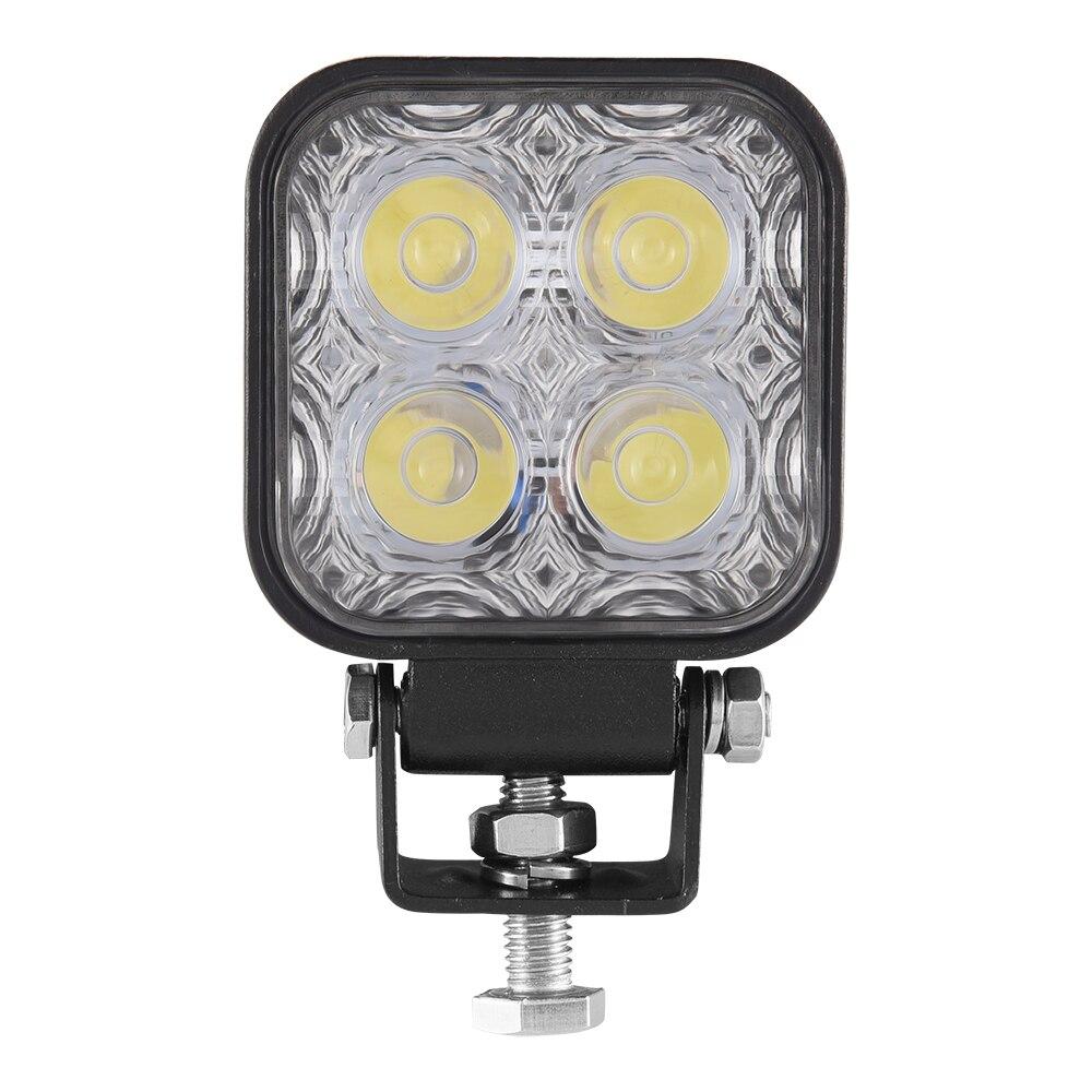 12 Вт Автомобильный светодиодный прожектор светильник напольный светильник для литья под давлением для внедорожных машин DC 12 V-24 V IP67 потолоч...
