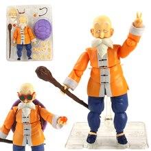 16cm Dragon Ball Z maître Roshi PVC figurines mobiles Anime jouet Dragon balle Super Kame Sennin Figurine jouets