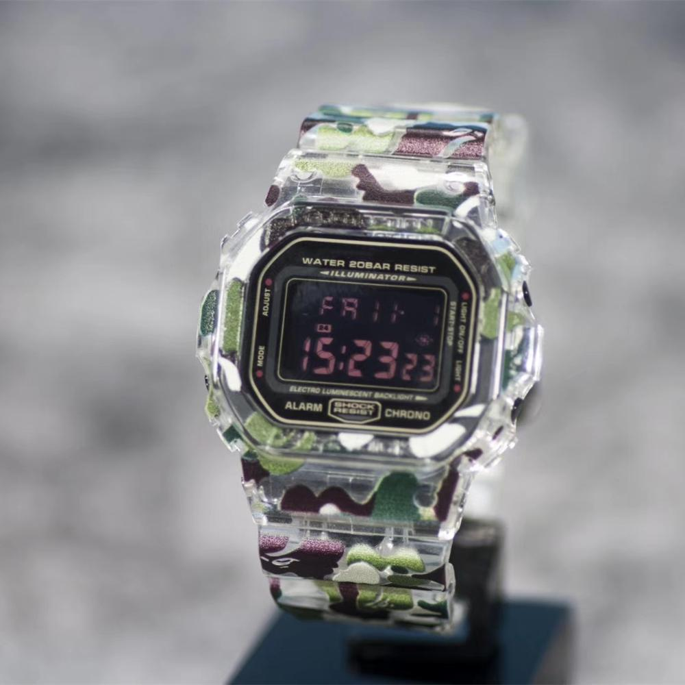 Камуфляжный ремешок для часов, ремешок для часов, ободок для DW5600 серии 5610, DW/GW5000, браслет с металлической застежкой и инструментами