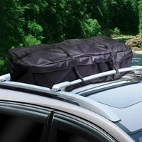 thicken oxford cloth car roof top bag travel waterproof cargo carrier luggage storage bag for cars accessories