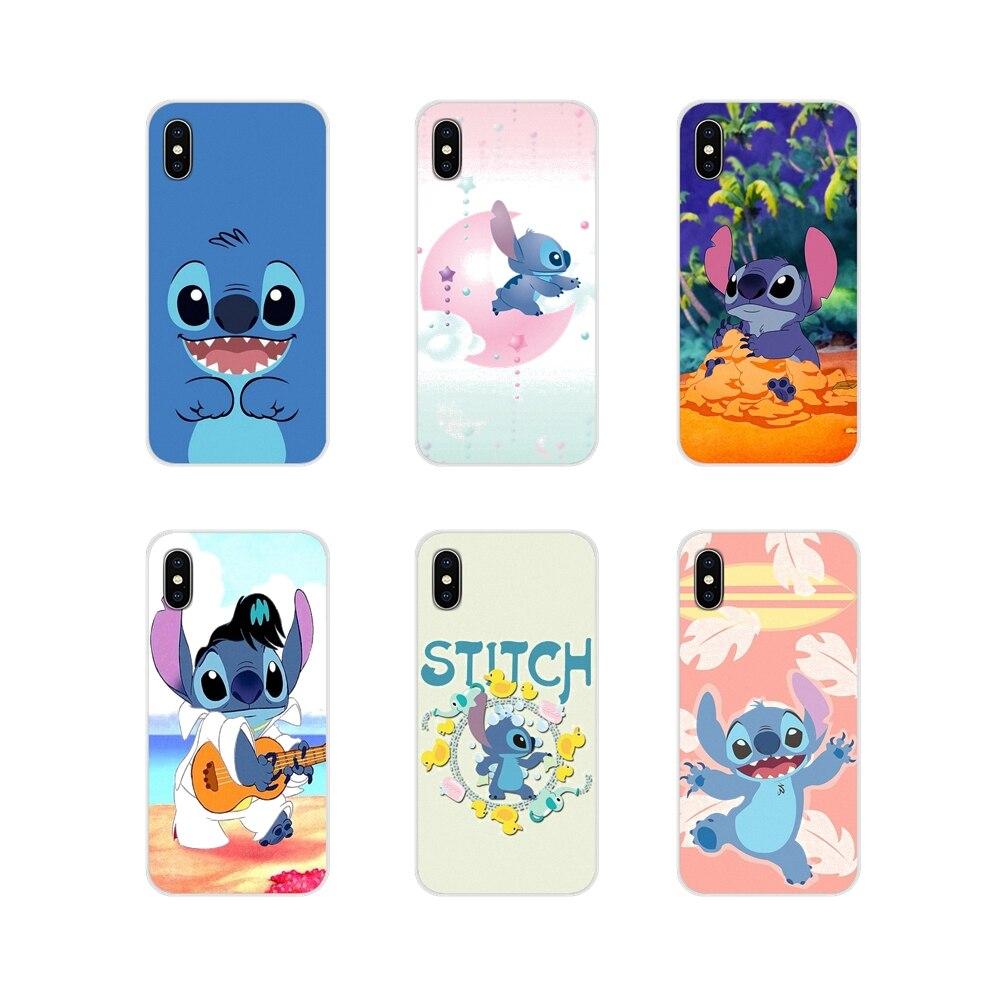 Lilo Stitch Anime Cartoon Accessories Phone Shell Covers For Samsung Galaxy A3 A5 A7 A9 A8 Star A6 Plus 2018 2015 2016 2017