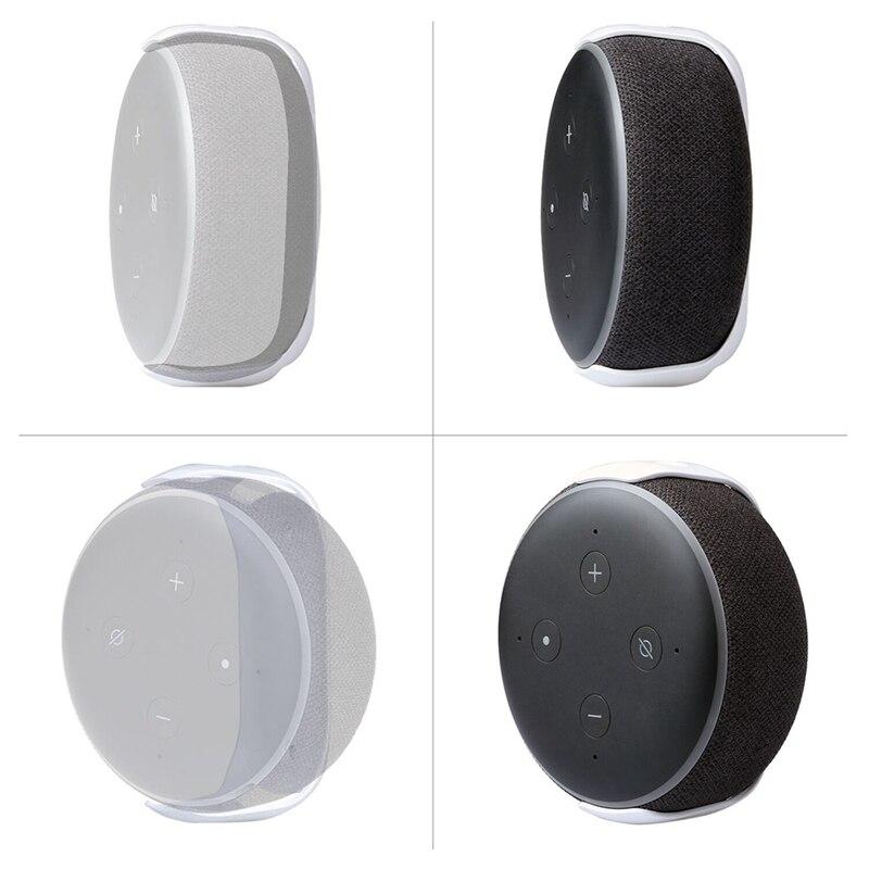 Wall Mount Houder Voor for Echo Dot 3 Speaker Stand Ruimtebesparend Stand Voor Smart Home Speakers Accessories