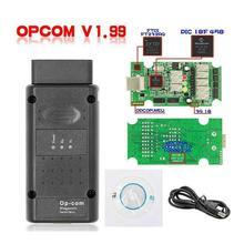 Nieuwe 2019 Opcom 1.65 1.70 V1.78 1.95 1.99 Voor Opel Super Scanner Canbus Com Op V1.59 Verzending Scanner Gratis OP-COM OBD2 Diagn F4Y8
