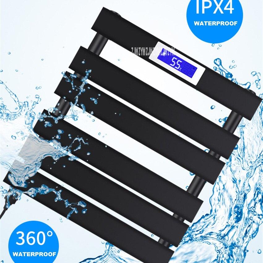منشفة دفئا منخفضة الكربون الصلب قضيب منشفة مُسخن شاشة ديجيتال التدفئة الكهربائية منشفة رف E601/ E701/ H601/ H801/ H1102