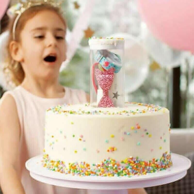 Sorpresa soporte para pastel de cumpleaños suministros de pastelería accesorios de cocina doble soporte Cupcake boda herramientas de decoración de pasteles