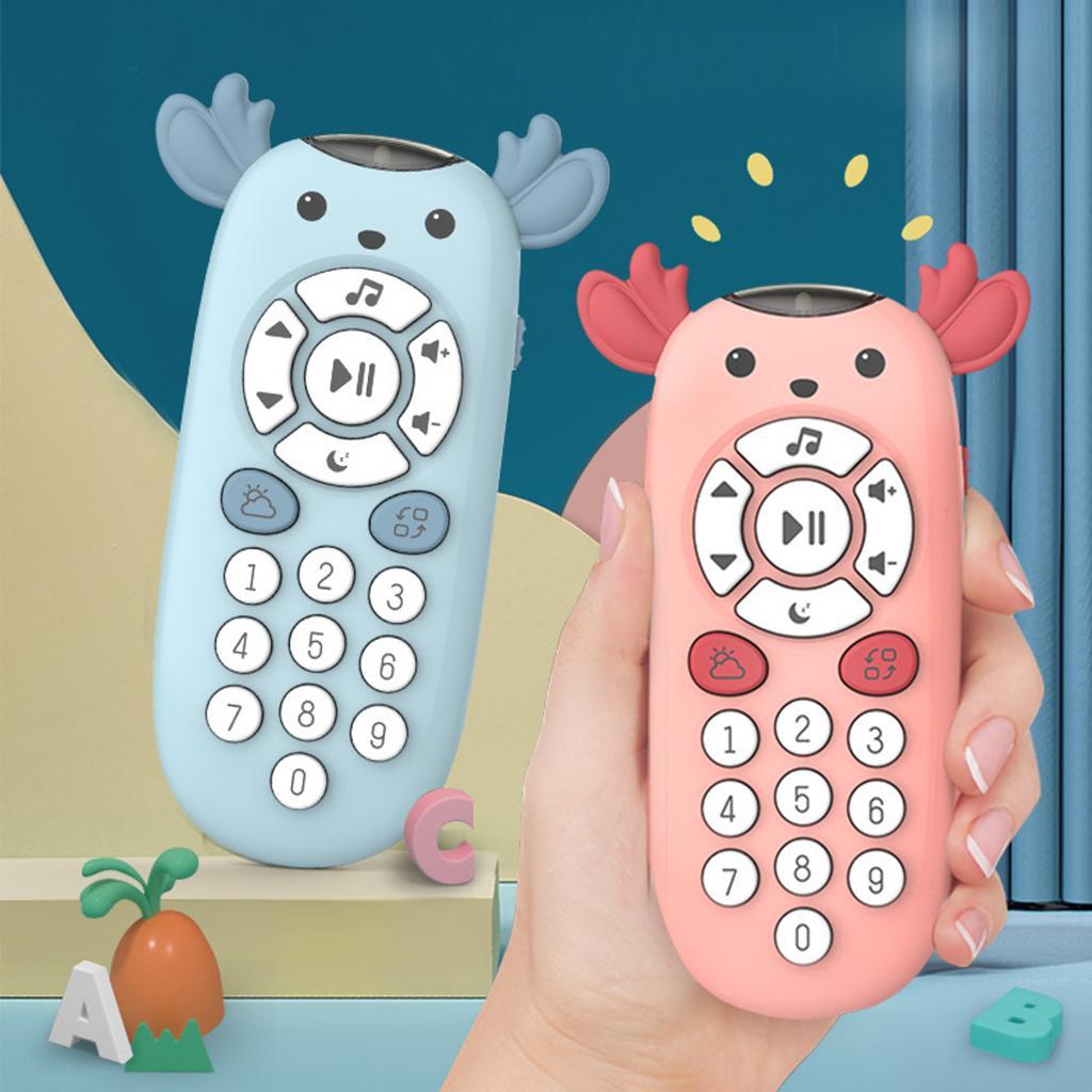 ТВ пульт дистанционного управления детсветильник Свет Звук музыка Обучающие игрушки подарок